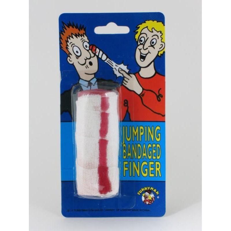 faux doigt bandé sauteur